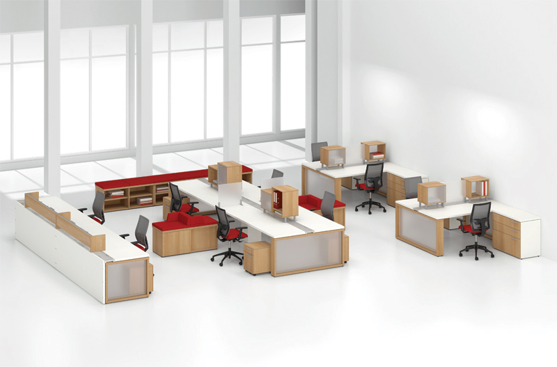 Benching Systems An Open Plan Alternative To The Cubicle