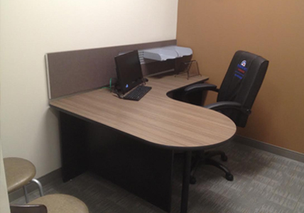 custom furniture manufacturing fresno green office